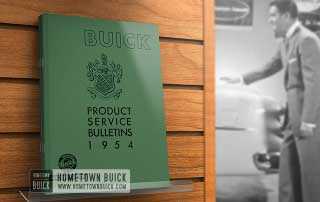 1954 Buick Product Service Bulletins AE