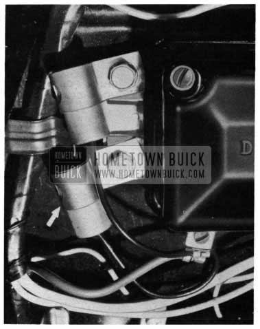 1954 Buick Radio Regulator Interference