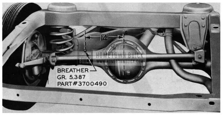 1954 Buick Rear Axle