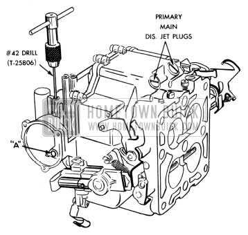 1954 Buick Rework of Stromberg 4-Barrel Carburetor