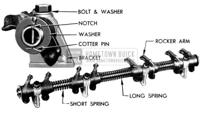 1954 Buick Rocker Arm Shaft