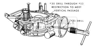 1954 Buick Stromberg Carburetor Vertical Passage