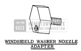1954 Buick Windshield Washer Nozzle Adapter