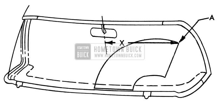 1954 Buick Windshield Wiper Alignment