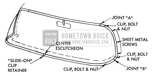 1954 Buick Windshield Wiper Attachements