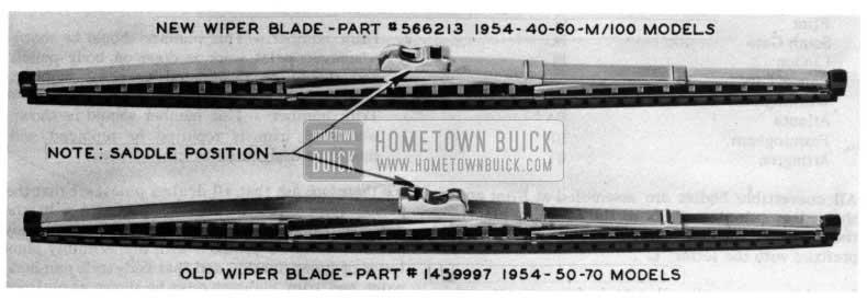 1954 Buick Windshield Wiper Blade
