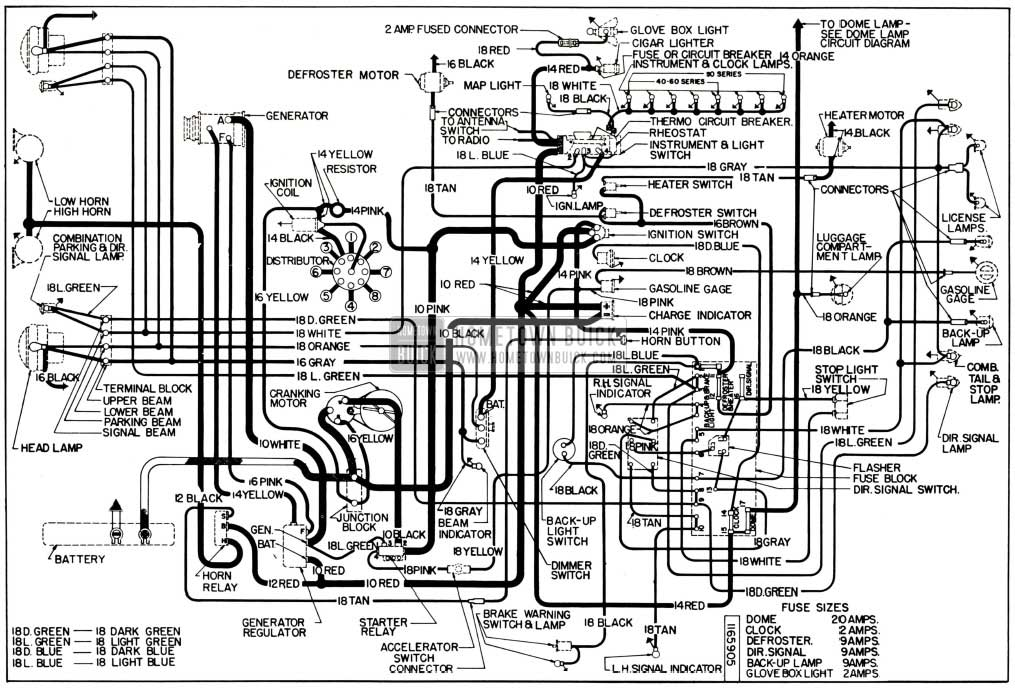1954 buick miscellaneous changes hometown buick 1964 freightliner wiring diagram