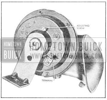 1957 Buick 1957 Horn