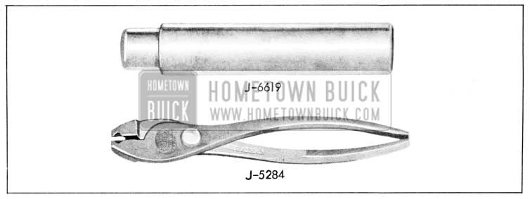 1957 Buick Available Service Tools