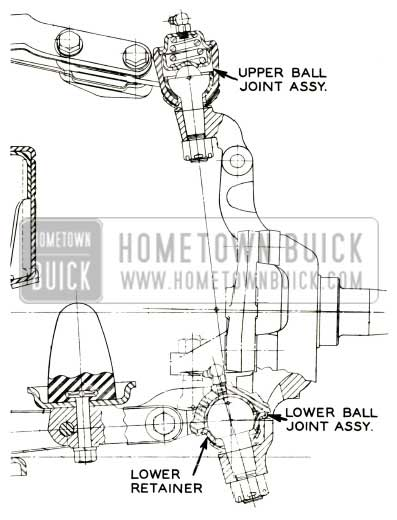 1957 Buick Ball Joint Service