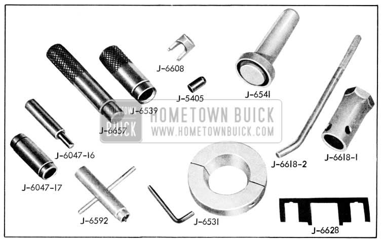 1957 Buick Essential Service Tools