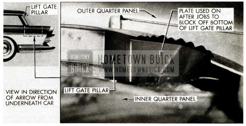 1957 Buick Estate Wagon Lift Gate