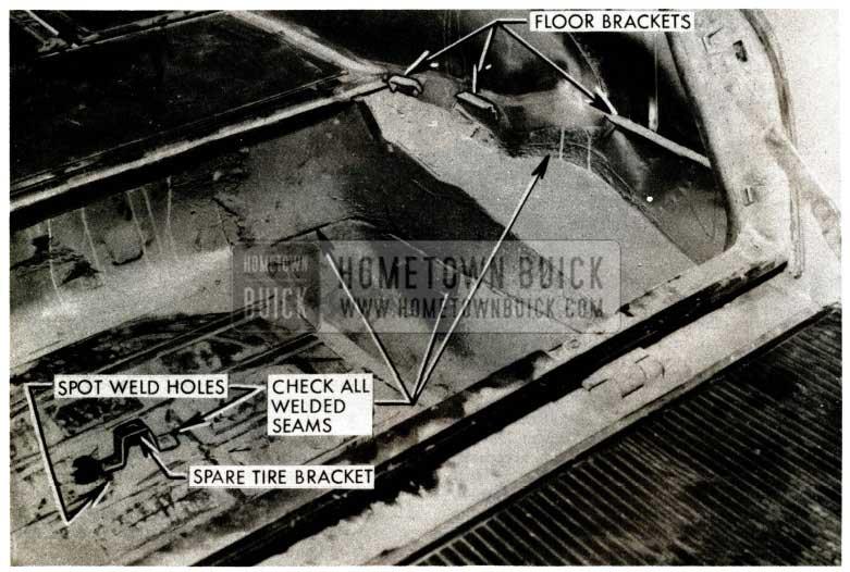 1957 Buick Estate Wagon Rear Compartment Floor