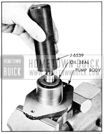 1957 Buick Installation of Oil Seal