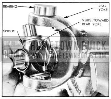 1957 Buick Installation of Spider