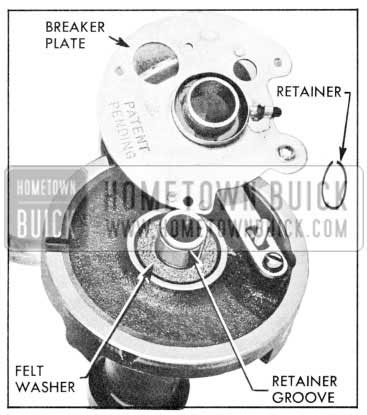 1957 Buick Installing Breaker Plate and Retainer