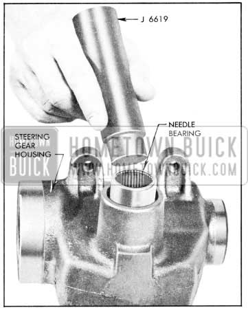 1957 Buick Installing Needle Bearing in Steering Gear Housing