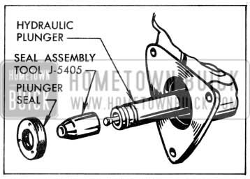 1957 Buick Installing Plunger Seal
