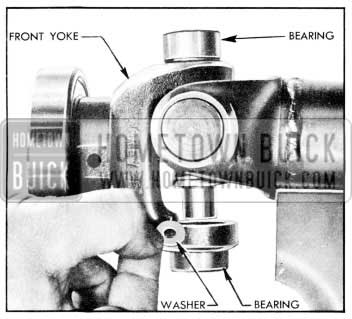 1957 Buick Installing Washers in Bearing