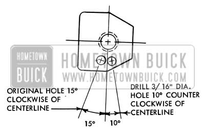 1957 buick electrical systems maintenance 1957 buick light switch positioning hole