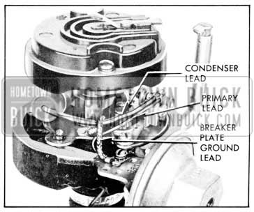 1957 Buick Locating Leads in Distributor