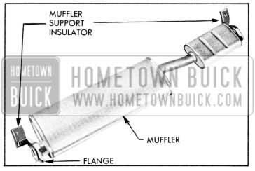 1957 Buick Muffler