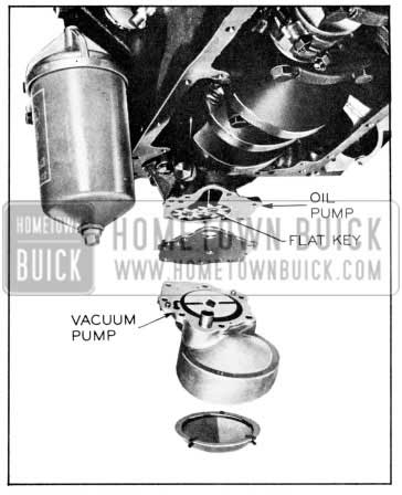 1957 Buick Oil and Vacuum Pump