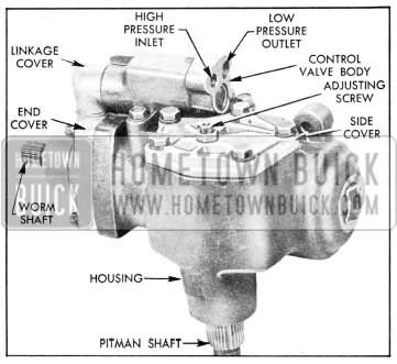 1957 Buick Power Steering Gear