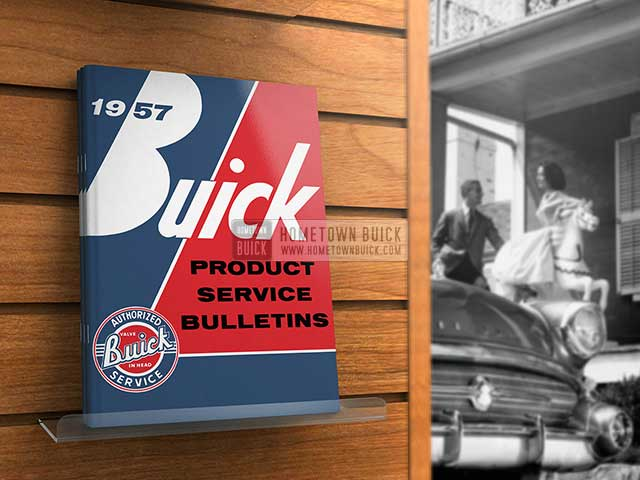 1957 Buick Product Service Bulletins AE