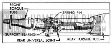 1957 Buick Rear U-Joint