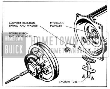 1957 Buick Removing Power Piston Assembly