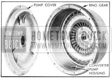 1957 Buick Starter Ring Gear