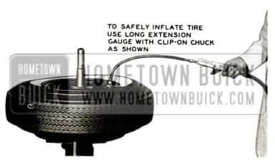1957 Buick Tubeless Tires Mounting Procedure