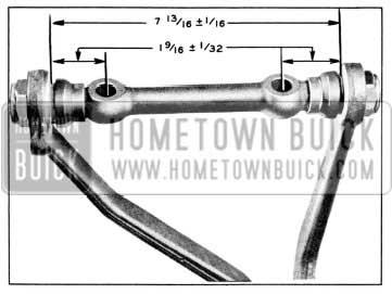 1957 Buick Upper control Shaft Dimensions