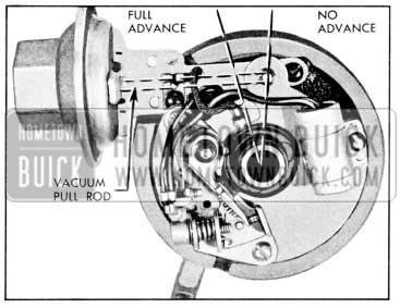 1957 Buick Vacuum Advance Mechanism