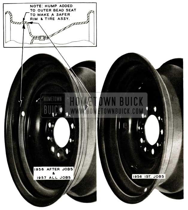 1957 Buick Wheels