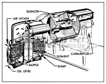 1950 Buick Air Cleaner and Silencer-Series 40-50