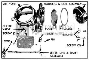 1950 Buick Air Horn and Climatic Control-Disassembled