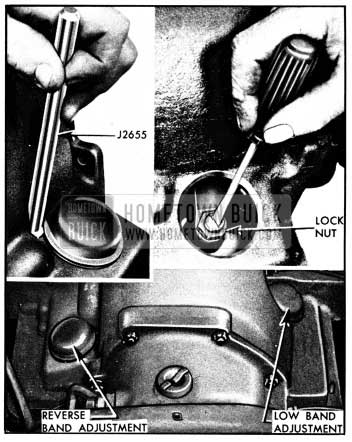 1950 Buick Band Adjustment