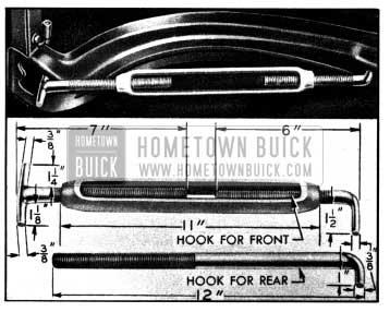1950 Buick Bending Hood Panel Reinforcement to Reduce Hood Width
