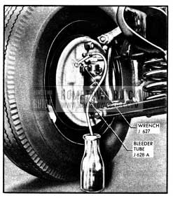 1950 Buick Bleeding Wheel Cylinder