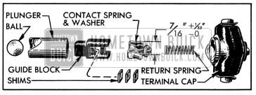 1950 Buick Carter Accelerator Vacuum Switch Parts
