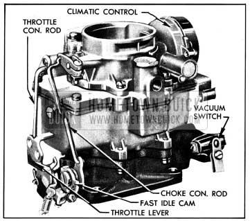 1950 Buick Carter Carburetor Assembly