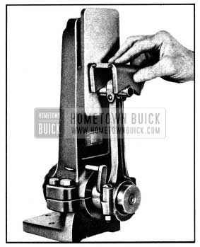 1950 Buick Checking Connecting Rod Alignment