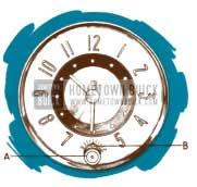1950 Buick Clock