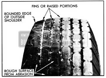 1950 Buick Cornering Tread Wear