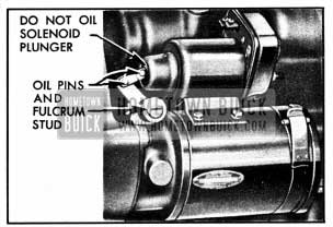 1950 Buick Cranking Motor
