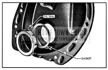 1950 Buick Crankshaft Oil Seal and Gasket