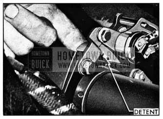 1950 Buick Dynaflow Transmission Control Detent