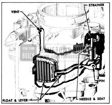 1950 Buick Float System-Carter Carburetor